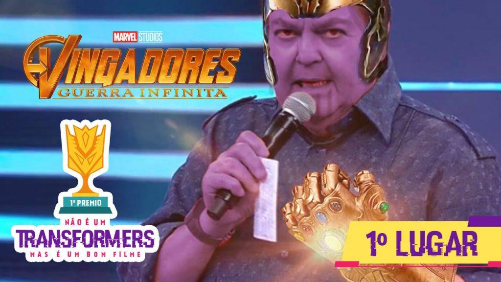 Filmes   Vingadores Guerra Infinita Fausthanos