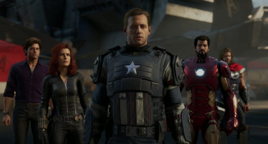 Marvel's Avengers na conferência da Square Enix